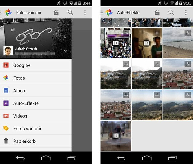 google plus auto effekte screenshot 03