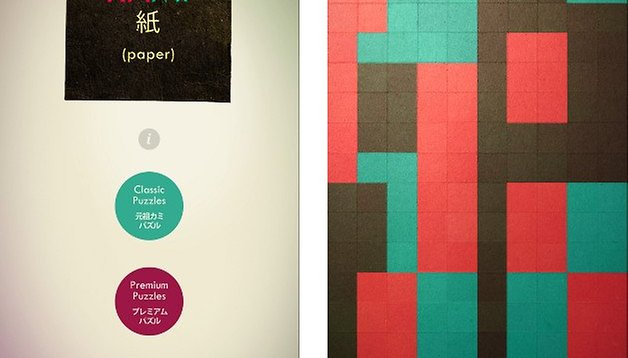 Kami: o puzzle japonês para Android