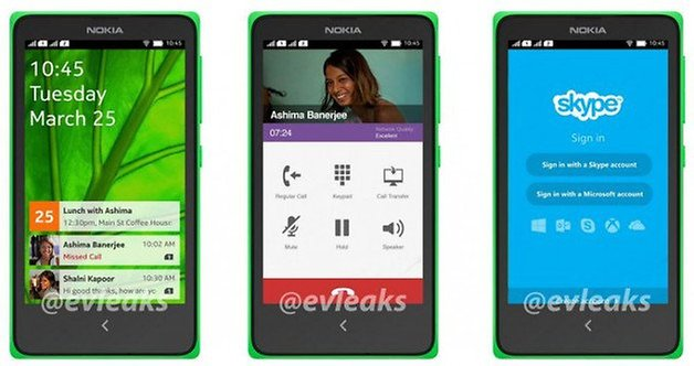 nokia normandy android kitkat screenshot evleaks