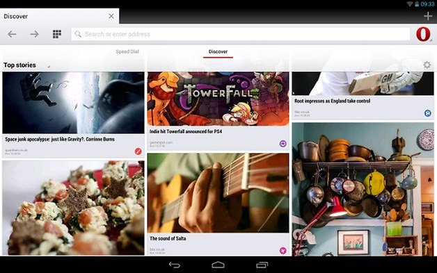 opera 18 update android screenshot