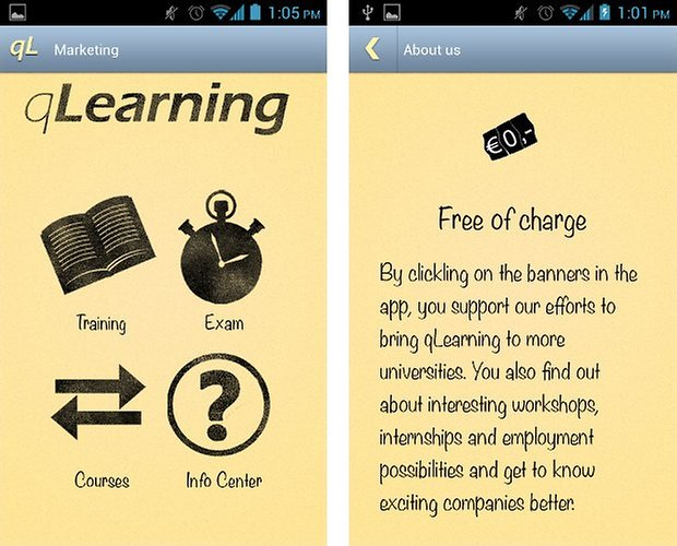 qlearning e learning app screenshot 01