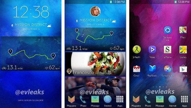 TouchWiz: Samsung testa novo design da interface de usuário