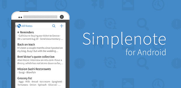 simplenote android logo