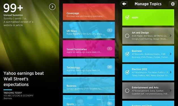 summly app screenshot 01
