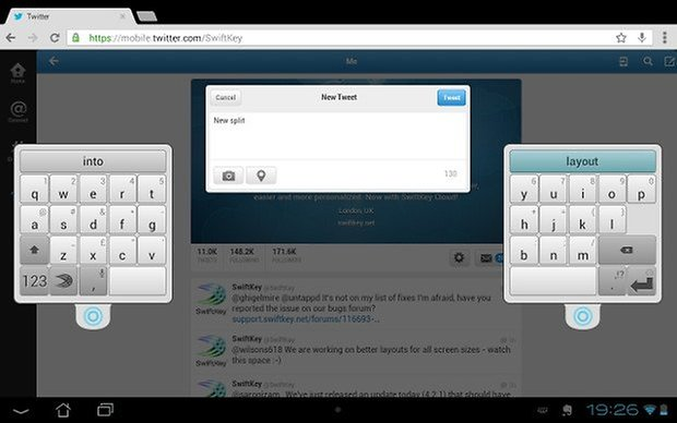 swiftkey beta screenshot 01