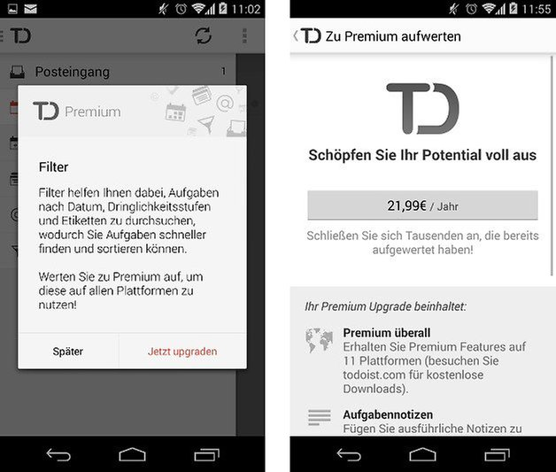 todoist app premium screenshot 01