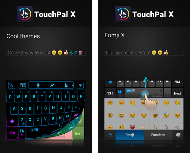 touchpal x keyboard app screenshot 02