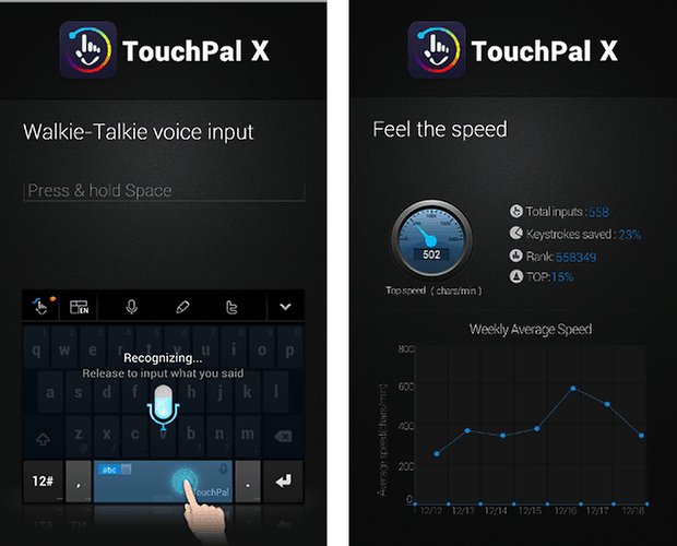 touchpal x keyboard app screenshot 03