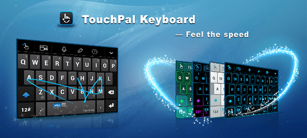 touchpal x keyboard app teaser