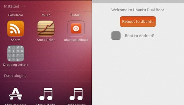 Ubuntu Touch: dual boot para Android