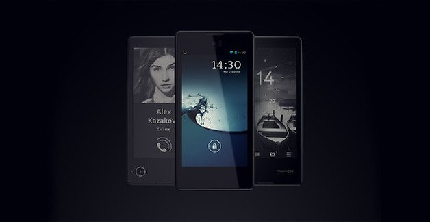 YotaPhone, Pressebild, E-Ink-Display
