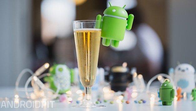 AndroidPIT vi augura un felice 2015!