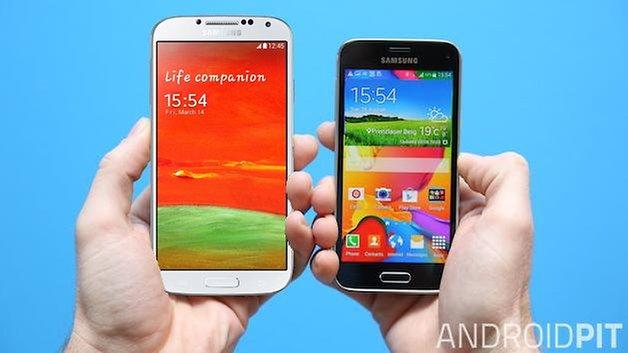 AndroidPIT samsung s4 vs s5 mini 1
