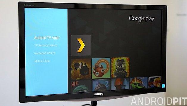 Android TV : on a testé le grand frère de la Chromecast
