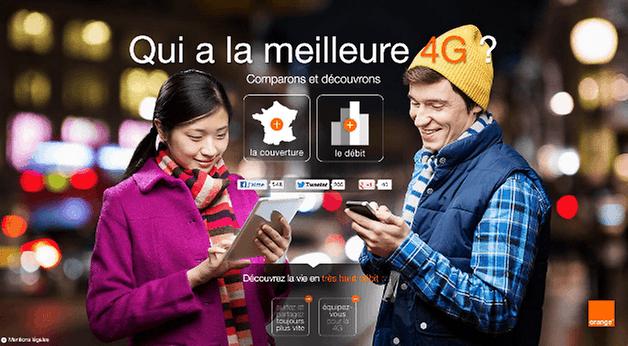 Orange pub 4G
