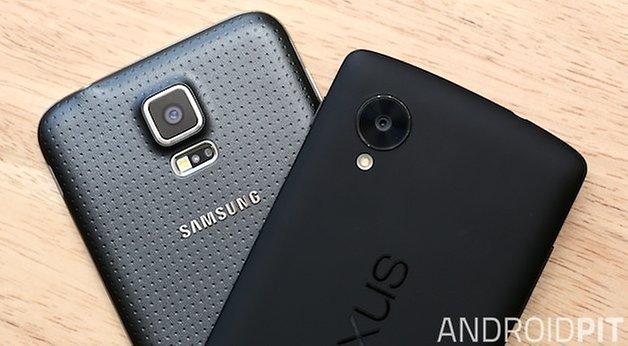 S5 vs nexus5 5