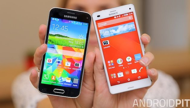 Comparación - Sony Xperia Z3 Compact vs Samsung Galaxy S5 Mini