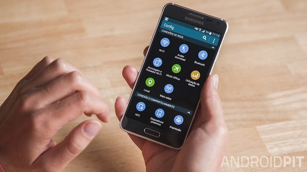 Samsung Galaxy Alpha Brazil 2