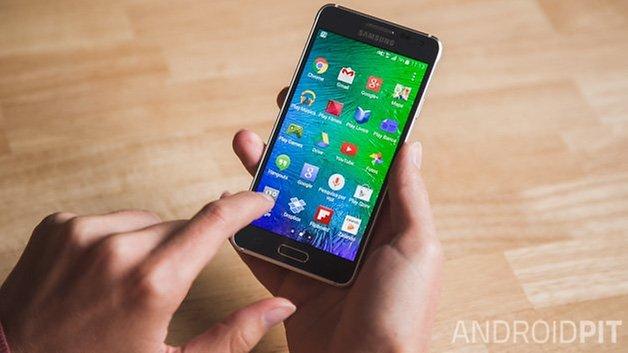 Samsung Galaxy Alpha Brazil 3