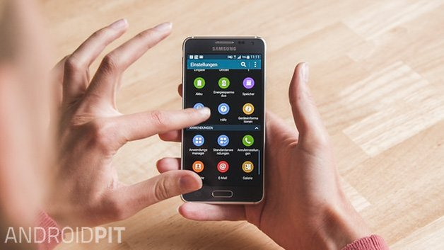 Samsung Galaxy Alpha Deutsch 3