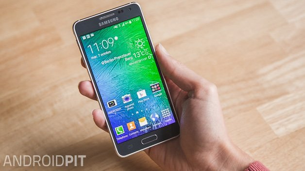 Samsung Galaxy Alpha french 2