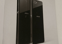 Xperia Z1 f next to Xperia Z1
