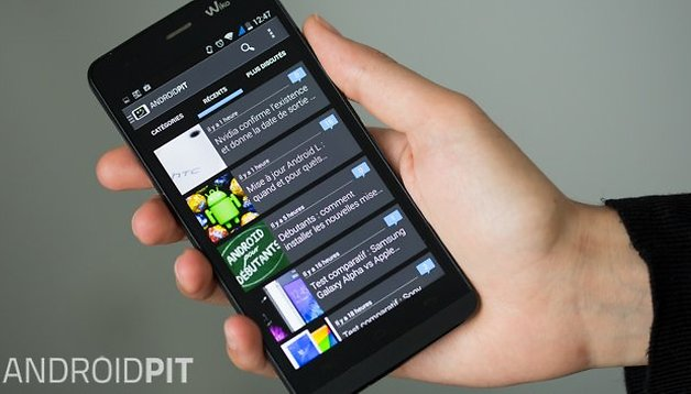 Application AndroidPIT 2.4 : passez du côté obscur !