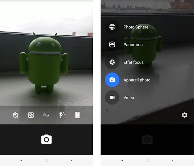 appareil photo android lollipop 2