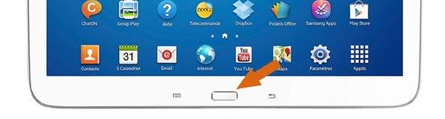 Touche Home Tablette Samsung