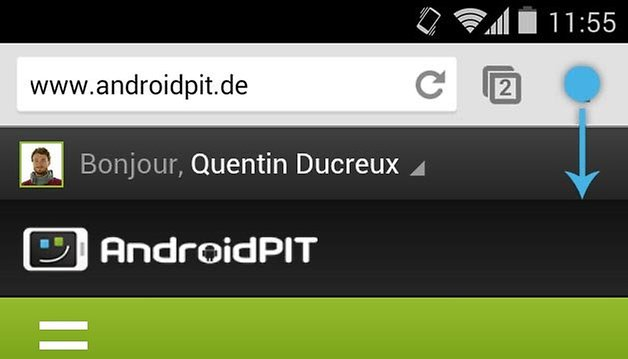 chrome geste menu 1