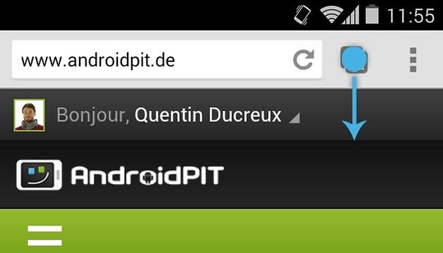 chrome geste menu 2