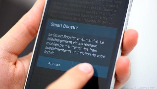 [Vidéo] Samsung Galaxy S5 : test du téléchargement en Download Booster