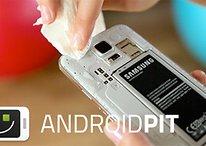 Samsung Galaxy S5 toma banho de gelo e desafia seus concorrentes