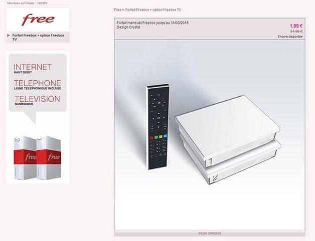 la freebox free 2 chez vente priv e toute l 39 offre d crypt e androidpit. Black Bedroom Furniture Sets. Home Design Ideas