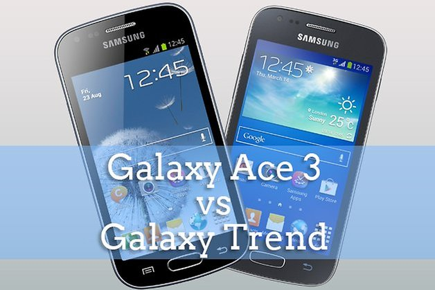 galaxy ace 3 vs trend