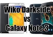 Wiko Darkside vs Galaxy Note 3 : le combat des phablettes
