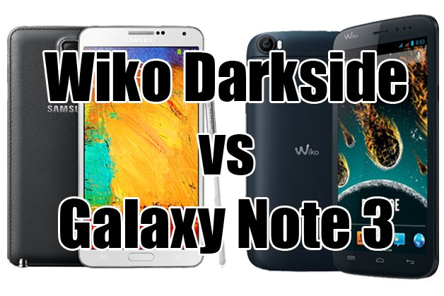 Wiko darkside vs galaxy note 3 le combat des phablettes androidpit - Difference entre note 3 et note 3 lite ...