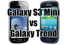 Samsung Galaxy S3 Mini vs Galaxy Trend : lequel est le meilleur ?