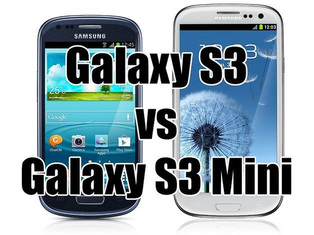 galaxy s3 mini vs s3