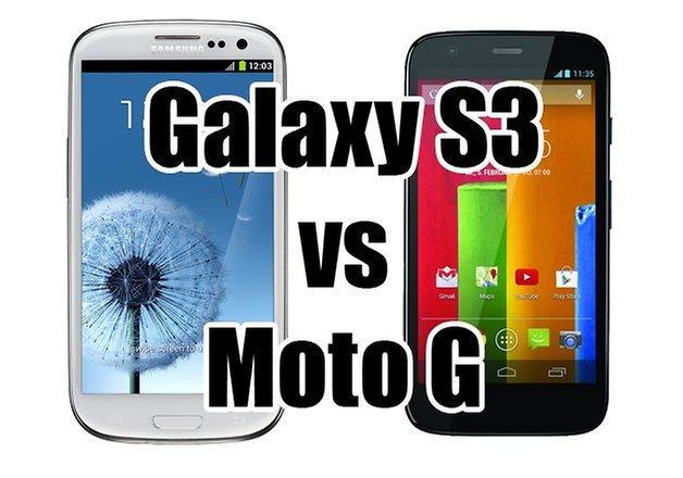 galaxy s3 vs moto g
