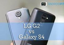 Samsung Galaxy S4 vs. LG G2