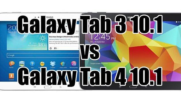 Galaxy Tab 3 vs Tab 4 : le combat des tablettes 10 pouces