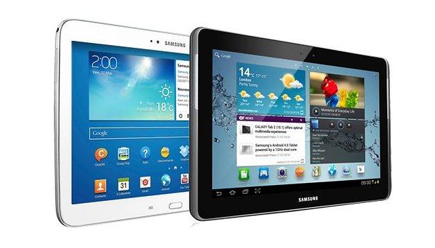 Comparatif : Samsung Galaxy Tab 2 10.1 vs Galaxy Tab 3 10.1