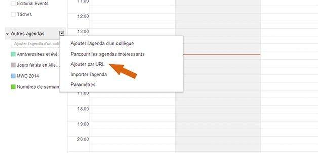google agenda coupe monde 2