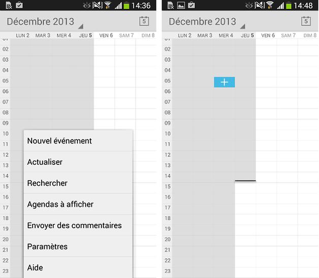 google agenda fr