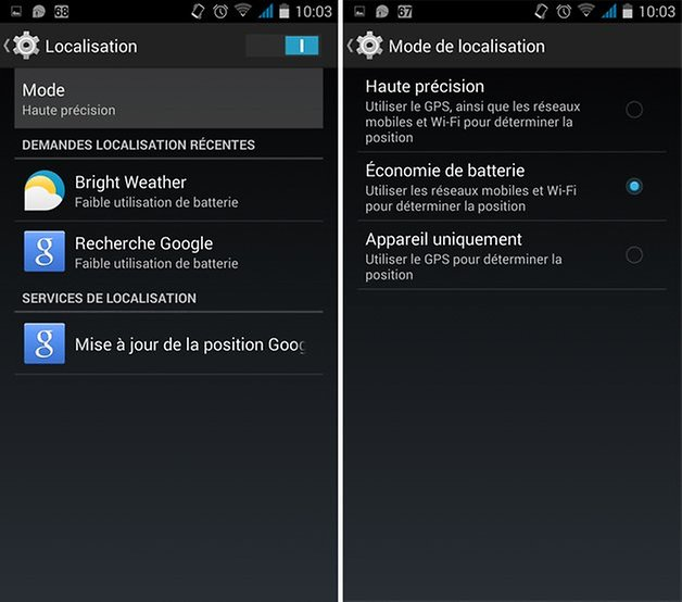 googlemaps batterie 2