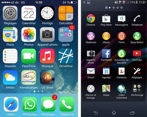 Apple iPhone 4S vs Sony Xperia M2