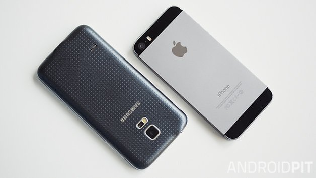 iphone5s vs galaxys5mini 1