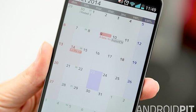 Trucs et astuces : tout connaître sur le calendrier Jorte pour Android
