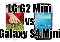 Comparación de LG G2 mini vs Galaxy S4 mini - ¿Cuál te comprarías?